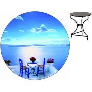 Τραπέζι καφενείου μεταλλικό 60 cm ηλεκτροστατικής βαφής Ελληνική Κατασκευής Nardimaestral Décor ΚΑΛΝΤΕΡΑ