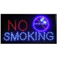 """Φωτιζόμενη πινακίδα με κίνηση """"NO SMOKING"""" OEM"""