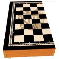 Τάβλι - Σκάκι ΠΑΟΚ 50X50X7 cm τύπου φορμάικα 1048ΓΚΠΑΟΚ