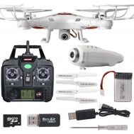WiFi Τηλεκατευθυνόμενο Ελικόπτερο Quadcopter 6 Axis Gyro 2.4GHz με HD Camera KOOME-K300C-WF