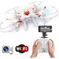 WiFi Τηλεκατευθυνόμενο Ελικόπτερο Quadcopter 6 Axis Gyro 2.4GHz με HD Camera LEADHONOR  LH-X8 WF
