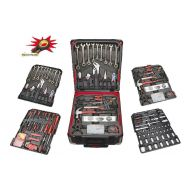 Εργαλειοθήκη Βαλίτσα με 295 εργαλεία κορυφαίας ποιότητας με set Καστάνιας Smart Kraft SK-0009