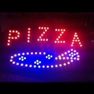 """Φωτιζόμενη πινακίδα με κίνηση """"Pizza"""" OEM"""