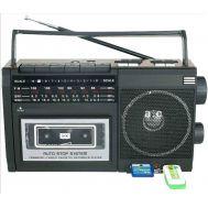Ραδιοκασετόφωνο Φορητό με USB/SD Mp3 Player, Ρεύματος και Μπαταρίας BLISS BS-602U
