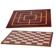 Σκακιέρα καπλαμάς μαόνι - καρυδιά 38x38cm