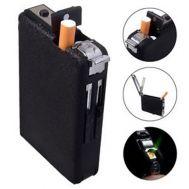 Αναπτήρας μεταλλική ταμπακιέρα τσιγάρων Windproof Dispenser Euro
