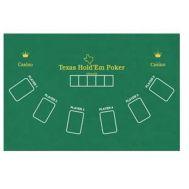 Τσόχα Black Jack Διπλής Όψης 6 παιχτών Texas Hold'Em Poker