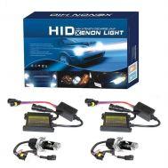 Φώτα XENON H4.3 8000 Kelvin αυτοκινήτου - πλήρες κιτ H.I.D. 8000 Kelvin
