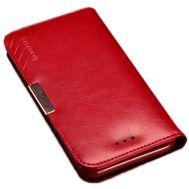 Θήκη για κινητό Samsung Galaxy Note 4 από γνήσιο δέρμα Kalaideng Royale II Red