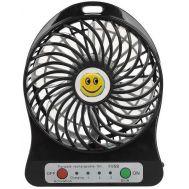 Μίνι φορητός επαναφορτιζόμενος ανεμιστήρας Smile Mini Fan OEM