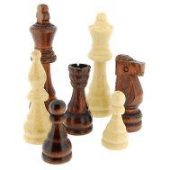 Πιόνια για σκάκι ξύλινα 90mm μεγάλα