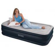 Στρώμα ύπνου φουσκωτό βελούδινο 99x191x43cm Ιntex Deluxe Pillow Rest Raised Bed 67732