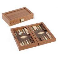 Τάβλι χειροποίητο 20x12 cm από ξύλο ελιάς και κορνίζα πλαίσιο ξύλου καρυδιάς Μανόπουλος TXL4KE