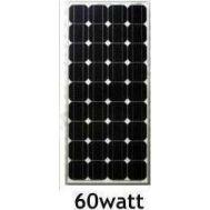 Φωτοβολταϊκός Συλλέκτης 60W 12V Solar Panel BAO-6065 με Πλαίσιο Αλουμινίου