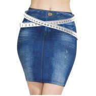 Φούστα Τζιν ελαστική χωρίς κουμπιά Trim n Slim Skirt