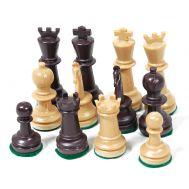 Πιόνια για σκάκι τύπου ξύλο μπεζ καφέ 70mm