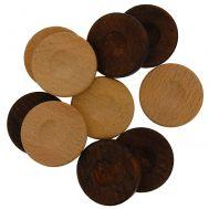 Πούλια ξύλινα 2,5cm μεσαία 30τμχ