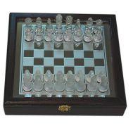 Σκάκι γυάλινο 26 Χ 26 cm
