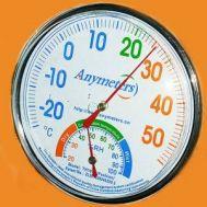 Θερμόμετρο και υγρόμετρο Καιρού Anymetre OEM TH101c