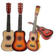 Ξύλινη Παιδική Κιθάρα 6 χορδών με 12 τάστα και μηχανισμό κουρδίσματος OEM 2-4