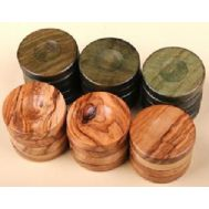 Πούλια από ξύλο ελιάς μεγάλα green