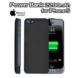 Θήκη με ισχυρή μπαταρία για iPhone 5 Power Bank 2200mAh