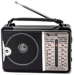 Ηλεκτρικό φορητό ραδιόφωνο Golon RX-606AC