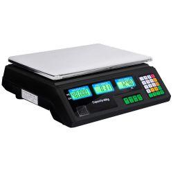 Ψηφιακή Ζυγαριά πάγκου 40 kgr διπλής οθόνης με αυτόματο υπολογισμό τιμής ΟΕΜ DIGITAL 40