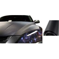 Ταινία προστατευτική 7,5×500cm σετ τριών (3) τεμαχίων 3D Carbon Fiber Film W-FA
