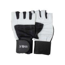 Ειδικά Δερμάτινα  γάντια γυμναστικής Άρσης Βαρών AMILA 83238