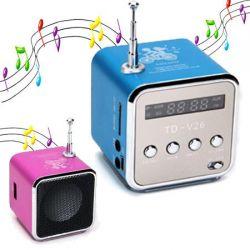 Mini MP3 Player - Fm Radio Aluminum Speaker
