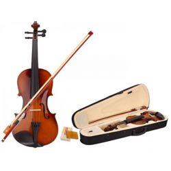 Κλασικό Βιολί 4/4 Με Δοξάρι Και Θήκη Μεταφοράς Fitness LCMV012W