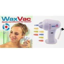Συσκευή Καθαρισμού Αυτιών για ανώδυνη και ασφαλή αφαίρεση του κεριού WaxVac