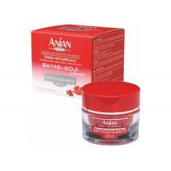 Ενυδατική αντιρυτιδική κρέμα προσώπου με Γκότζι Μπέρι (Goji Berry) και κόκκινα μούρα 50 ml Anian