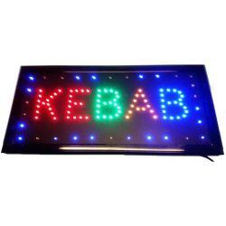 """Φωτιζόμενη πινακίδα με κίνηση """" KEBAB """" OEM"""