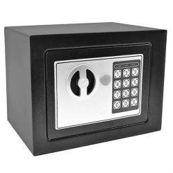 Χρηματοκιβώτιο ασφάλειας σπιτιού - ξενοδοχείου 17 X 23 X 17  cm με ηλεκτρονική κλειδαριά DUNWEI OEM
