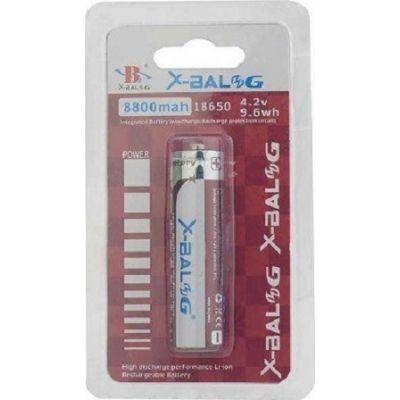 Επαναφορτιζόμενη μπαταρία 18650 - 8800mah - X-BAL