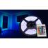 Αδιάβροχη Ταινία LED 4 μέτρων RGB με τηλεχειριστήριο 60SMD 4,8W/m